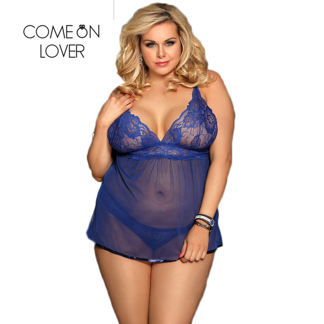 Comeonlover Ropa Sexy Para El Sexo Backless Fly-away Sex Clothes For Women Babydoll Dress Hot Lenceria Erotica Lingerie RI80641