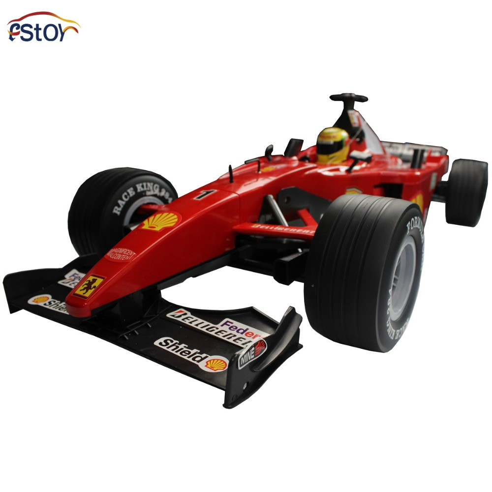Simulation RC Car 1:6 Car Model F1 Formula Racing Car Remote Control Sport Racing Car with 4 Spare Wheel electronic toy Vehicles  infrared remote control simulation brazil turtle toy animal model
