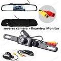 Câmera reversa Espelho Retrovisor Monitor de Vídeo sem fio câmera traseira de estacionamento