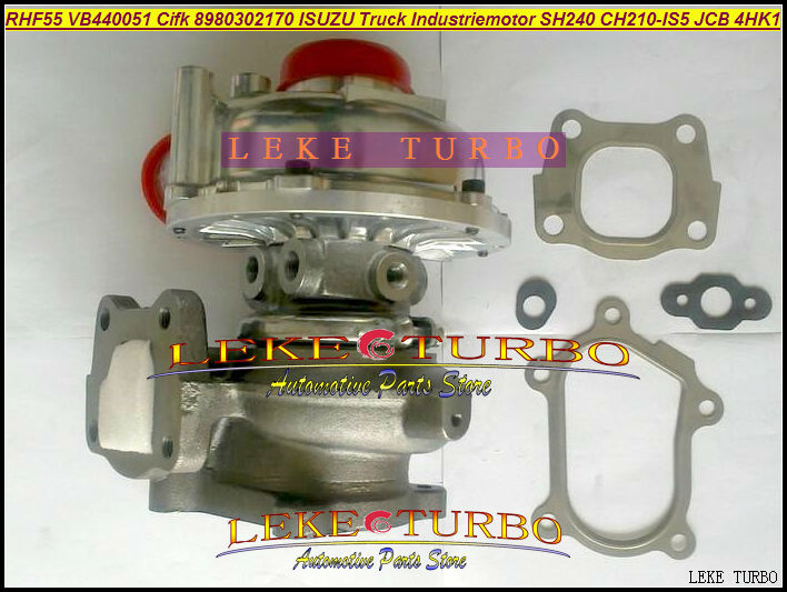 Turbocompresseur Turbo RHF55 VB440051 CIFK 8980302170 Pour HITACHI Industrial ZX240 Pour ISUZU Truck Industriemotor SH240 JCB 4HK1