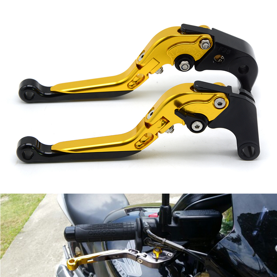 For Honda XL600 LMF XRV750 L-Y Africa Twin NX650 J-X Dominator Moto Foldable Extending Brake Clutch Levers Folding Extendable for honda crf1000l africa twin 2015 2018 foldable extendable clutch brake levers folding extending cnc 2016 2017 adjustable