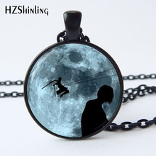 Attack on Titan Pendant Glass Jewelry Necklace