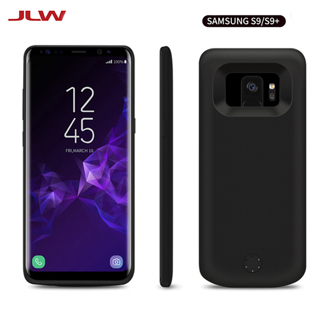 on sale 4f69d 1a9d3 US $30.43 |JLW 5000mAh Battery Charger Power Case for Samsung Galaxy S9  Backup External Battery Clip Rechargeable Phone Case for Galaxy S9-in  Battery ...