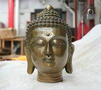 Folk Culture Temple Bronze Statue Shakyamuni Tathagata Buddha Statue Wholesale Art Decoration 100 Real Tibetan Silver