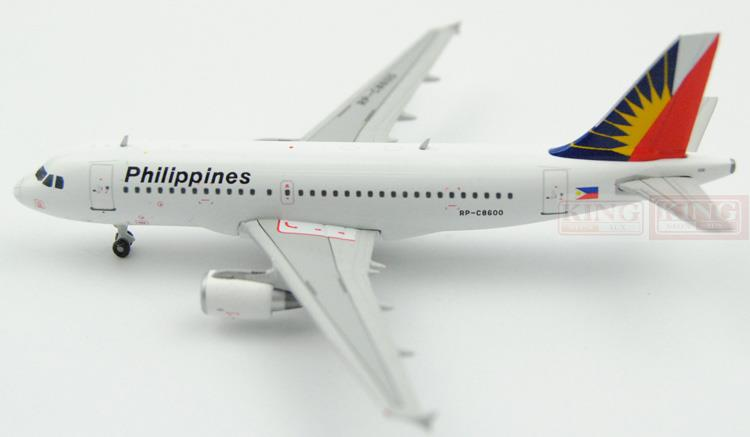GJPAL1435 GeminiJets Philippines Airlines 1:400 A319 commercial jetliners plane model hobby spike wings xx4502 jc turkey airlines b777 300er san francisco 1 400 commercial jetliners plane model hobby