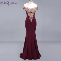 Vestido De Festa Longo Mermaid Bridesmaid Dresses Floor Length Custom Made Off the Shoulder Long Party Dress Bridesmaid Gowns