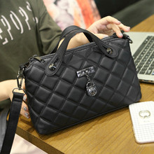 2016 new fashion handbags tide small square package lozenge shoulder diagonal portable shoulder bag wild shoulder packet