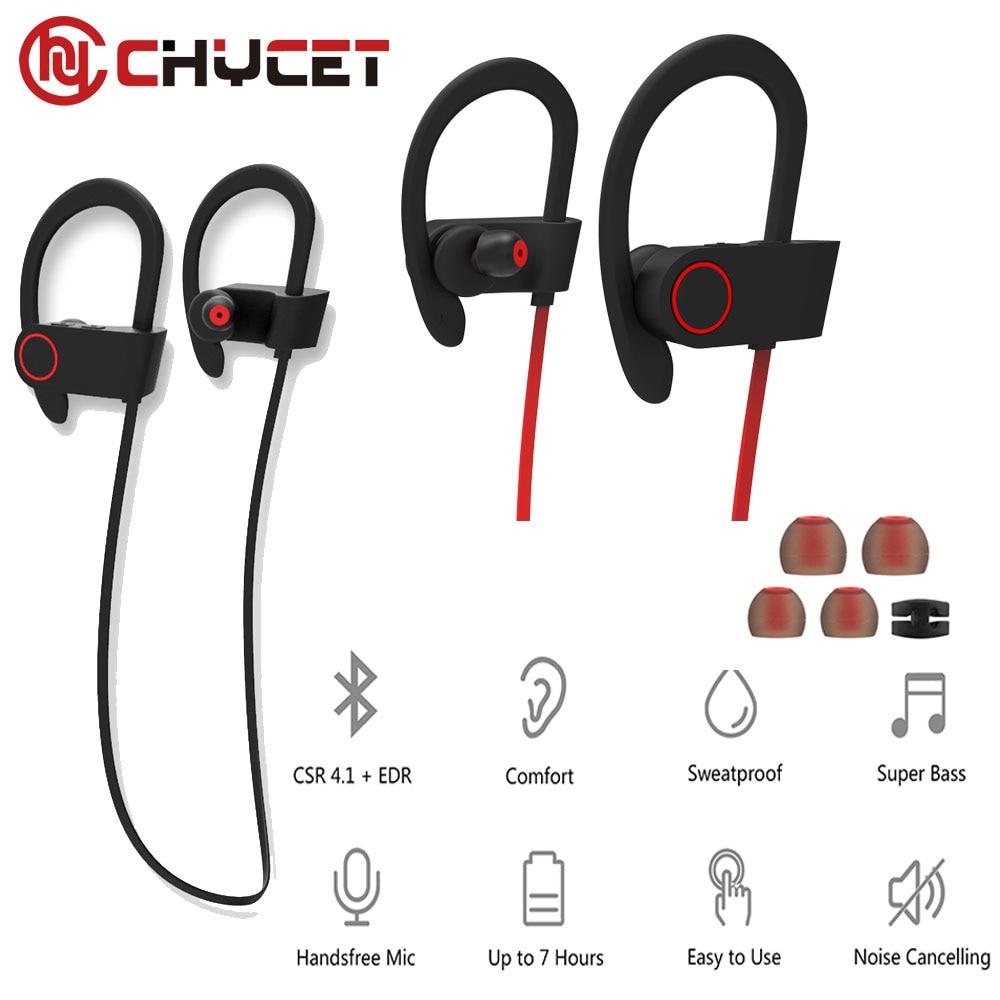 Chycet U8 Bluetooth 4.1 Sport Earphone Handfree Wireless Bluetooth Headset Earphones with Mic Sports Ear-Hook Bluetooth Earphone bluetooth headset wireless bluetooth 4 1 sport earphone handfree headphones with mic sports ear hook earphone for xiaomi pc