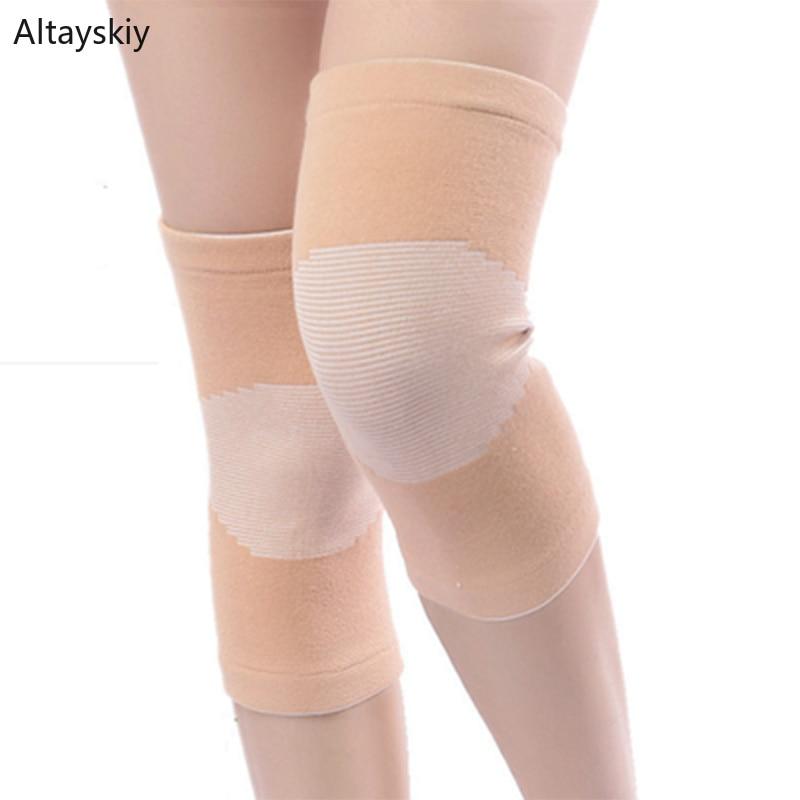 Knee Sleeve Women Korean Style Summer Breathable Elasticity Thin Soft Cotton Comfortable Simple Soild Womens 2020 High Quality