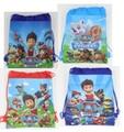 2015 bolsos de escuela niños lazo de la historieta mochila y bolsa de bolsa De los niños de nuevo a escuela mochila infantil-a06