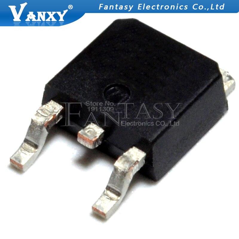 10 x 50R380 50R380P MMD50R380P N-channel MOSFET MMD50R380PRH TO-252