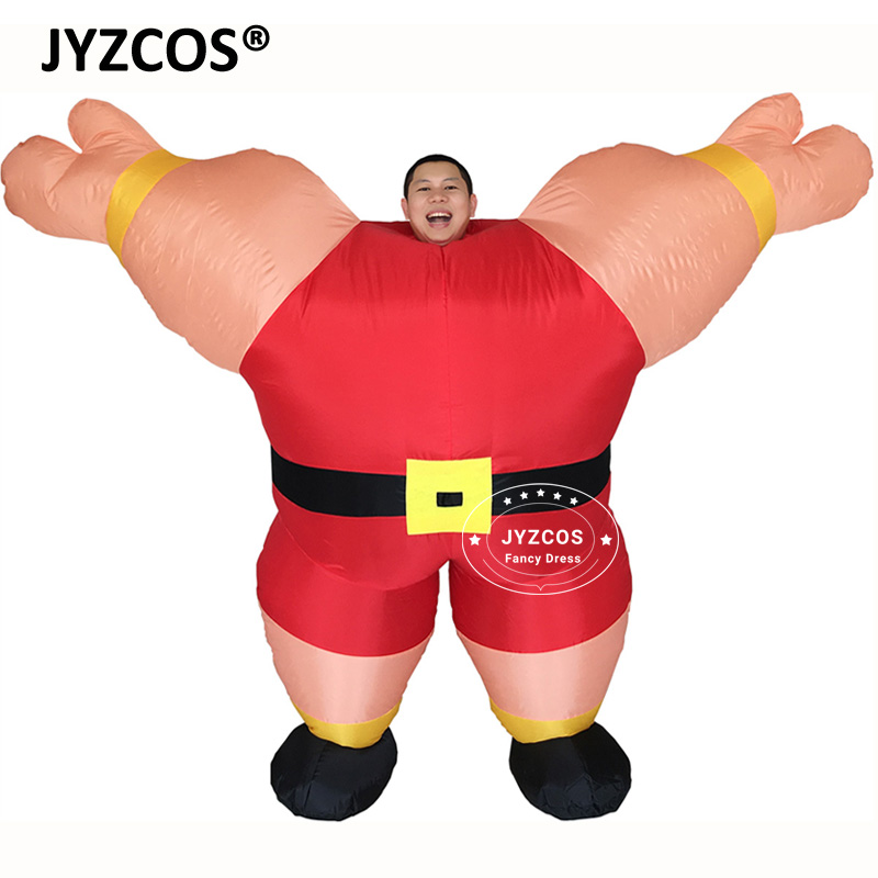 JYZCOS M. Fitness Sailor Musculation Homme Drôle Gonflable Costumes Party Bar Gym Fantaisie Robe Outfit Promotion Outils