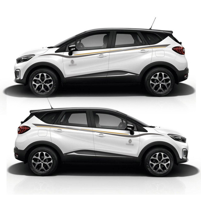 TAIYAO car styling sport car sticker For Renault Captur TCe190 Mark Levinson car accessories and decals