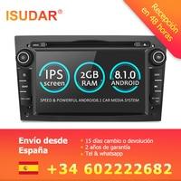 Isudar Car Multimedia Player GPS Android 8.1 2 Din DVD Automotivo For OPEL/ASTRA/Zafira/Combo/Corsa/Antara/Vivaro Radio FM DSP