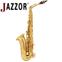 JAZZOR JYAS A600F High Quality Professional Alto Saxophone E Flat With Saxophone Mouthpiece Top Wind Instrument