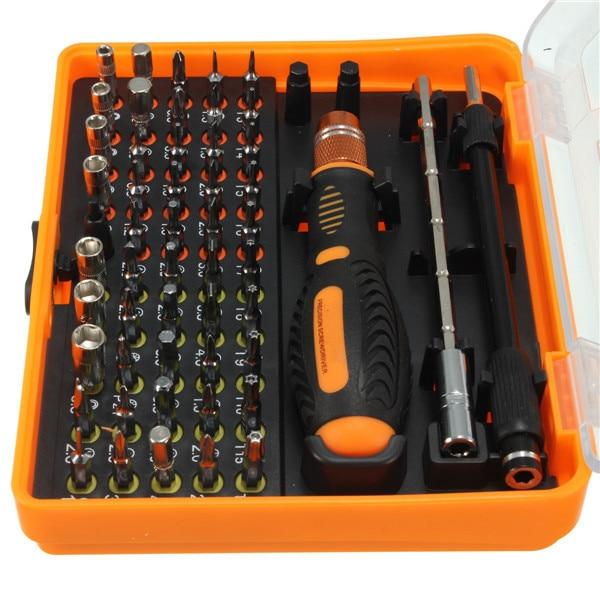 ФОТО Karambit Ferramentas  New Time-limited Precision Screwdriver Set Ferramenta 53 In 1 Multi-bit Torx Tweezer Repair Tools