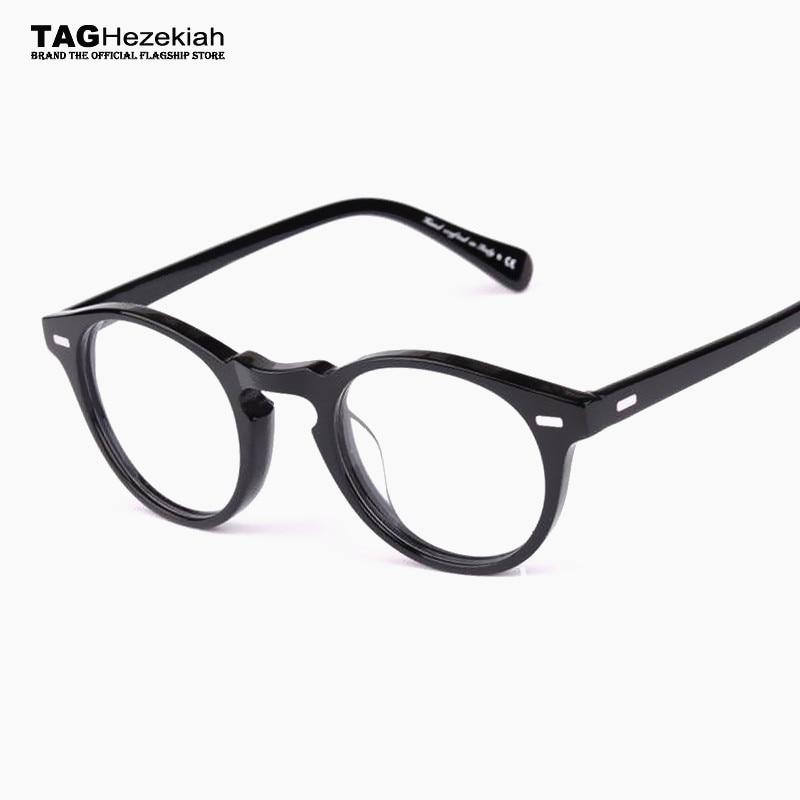2017 Retro gafas marcos hombres moda marca vintage monturas de gafas ...