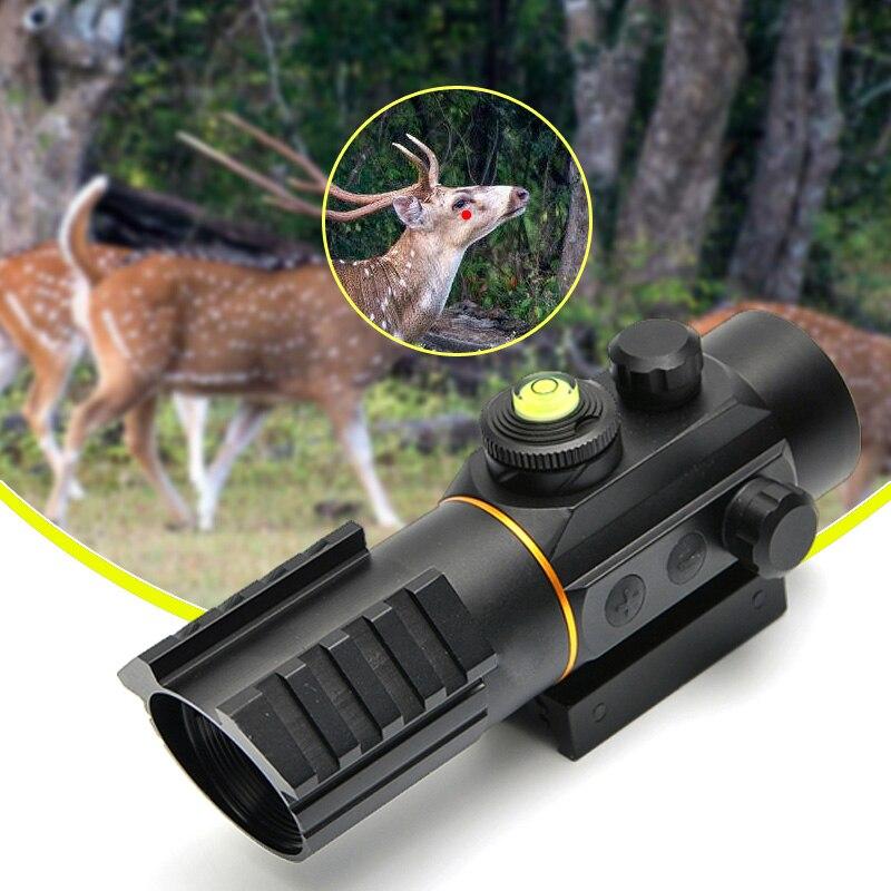 Trijicon 3X42 Tactical Red Dot Sight Scope Fit Rail Mount <font><b>11mm</b></font>/20mm Riflescope Hunting Scope For Air Gun