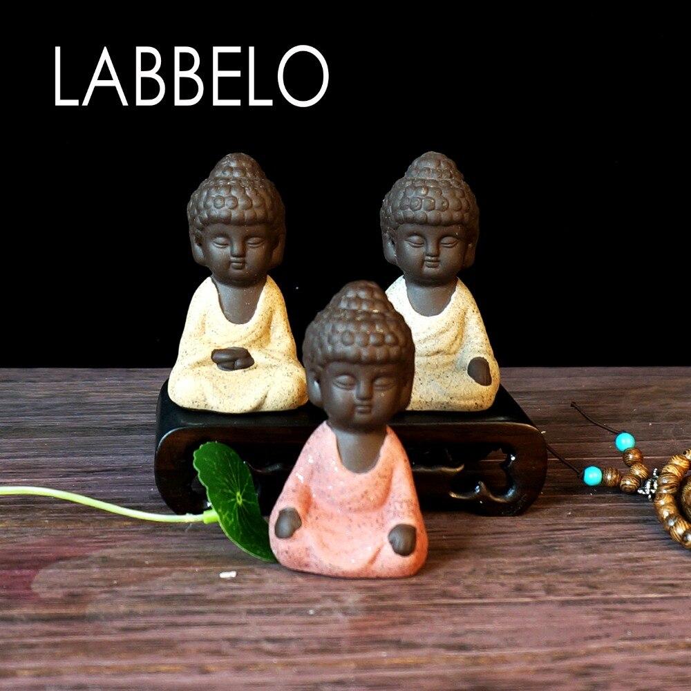 labbelo κεραμικά Βούδα άγαλμα μοναχός - Διακόσμηση σπιτιού - Φωτογραφία 5