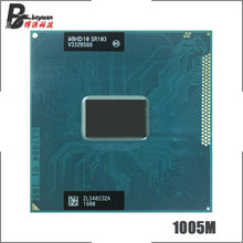 Prosesor Intel Celeron 1005 M 1005 M SR103 1.9 GHz Dual-Core Dual-Thread Prosesor CPU 2 M 35 watt Soket G2/RPGA988B(China)