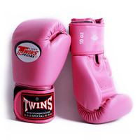 Pink 8oz 14oz Boxing Gloves Adult Kid Beautiful MMA Glove Punching Bag Mitts Super Quality Kickboxing