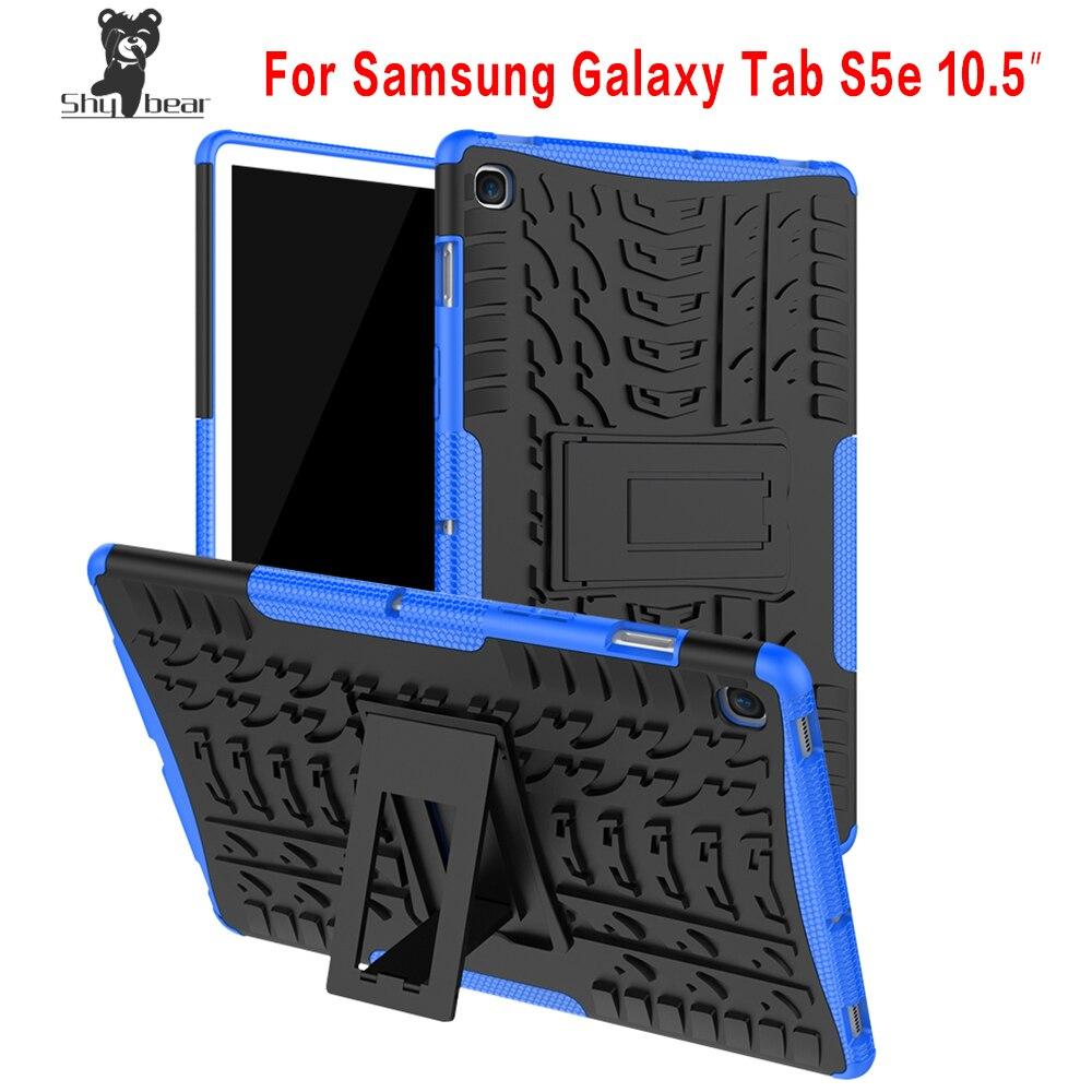 Shy Bear TPU+PC Case For Samsung Galaxy Tab 10.5 S5E SM-T720 SM-T725 Heavy Duty 2 in 1 Hybrid Rugged Case + GiftsShy Bear TPU+PC Case For Samsung Galaxy Tab 10.5 S5E SM-T720 SM-T725 Heavy Duty 2 in 1 Hybrid Rugged Case + Gifts