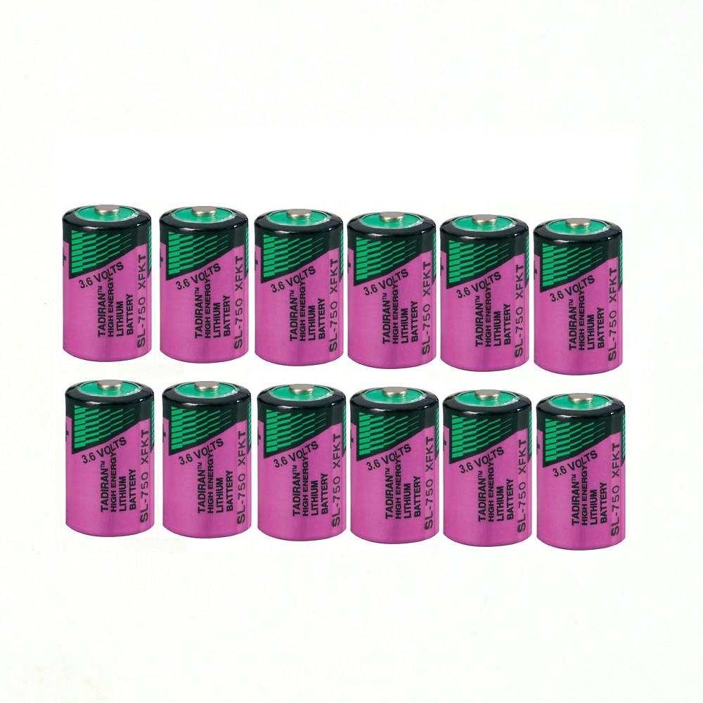 12pcs/lot High quality new TL-5902 1 / 2AA ER14250 SL350 3.6V 1/2 AA PLC lithium <font><b>battery</b></font> image