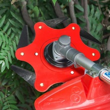 цена на Lawn Mower Six-leaf Blade Head Replaceable Mower Universal Accessories Garden Power Tools Accessories