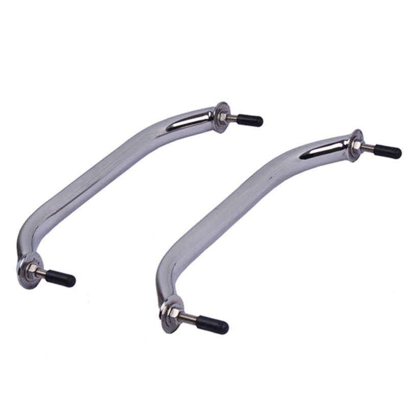 2pieces 16 316 Stainless Steel Boat Polished Boat Marine Grab Handle Handrail