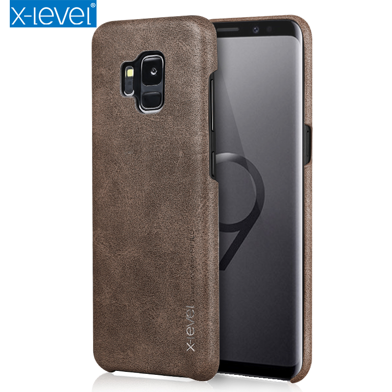 X-Level PU Leather Case For Samsung Galaxy J3 J4 J5 J6 J7 A3 A5 A7 A8 2016/2017/2018 Note 5 8 S7 Edge S8 S9 Plus Cover Case