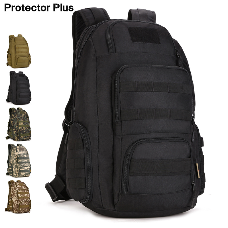 40L Tactical Backpack Outdoor Military Backpack Tactical Bag Sport Camping Hiking Fishing Hunting 30l military army tactical outdoor backpack 600d nylon camouflage bag camping hiking hunting fishing sport outdoor backpack bag