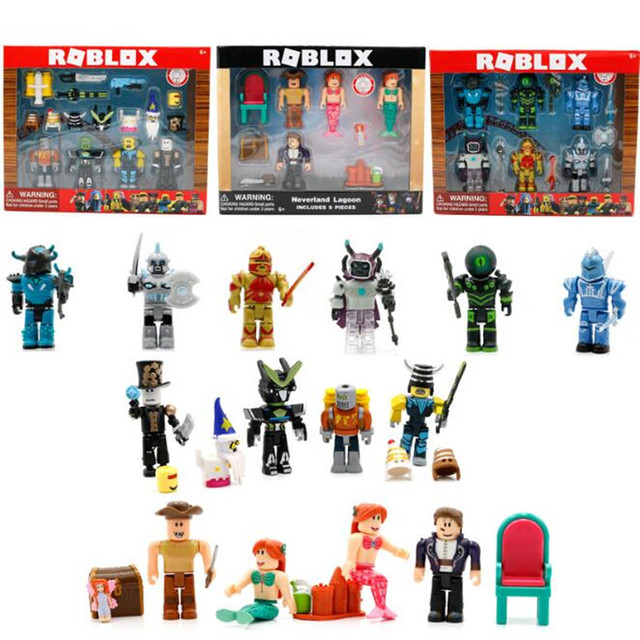6pcs Set Hot Roblox Games Figma Oyuncak 7cm Pvc Roblox Boys Cartoon