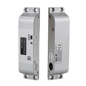 Image 5 - צילינדר חשמלי זרוק בורג נעילה באיכות גבוהה DC 12 V להיכשל בטוח עבור מערכת בקרת גישה דלת מנעול אבטחה עם זמן עיכוב