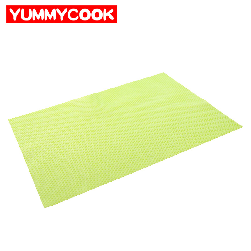 4pcs lot silicone cabinet mat pad kitchen home - Kitchen cabinet mats ...