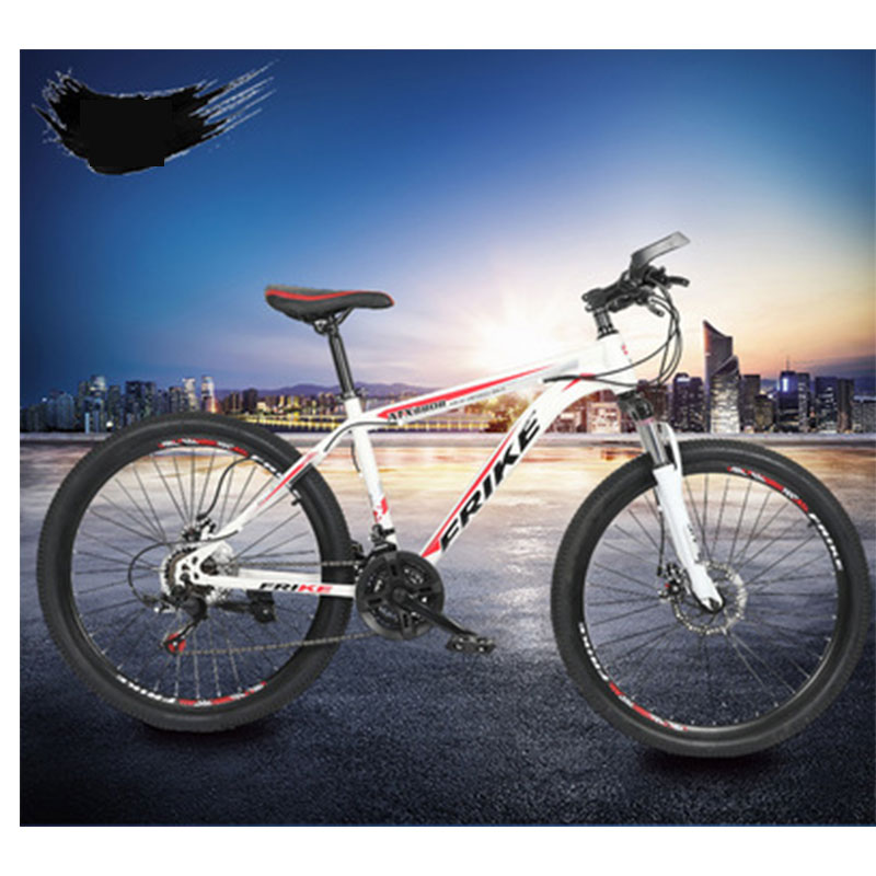 New Adult 26 Inch 21 Speed Mountain Cross Country Bicycle Damping Disc Brakes Speed Car