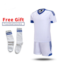 ONEDOYEE 17 18 Mens Soccer Jerseys Set Polyester Adults Football Training Suits Long Sleeve Soccer Uniform
