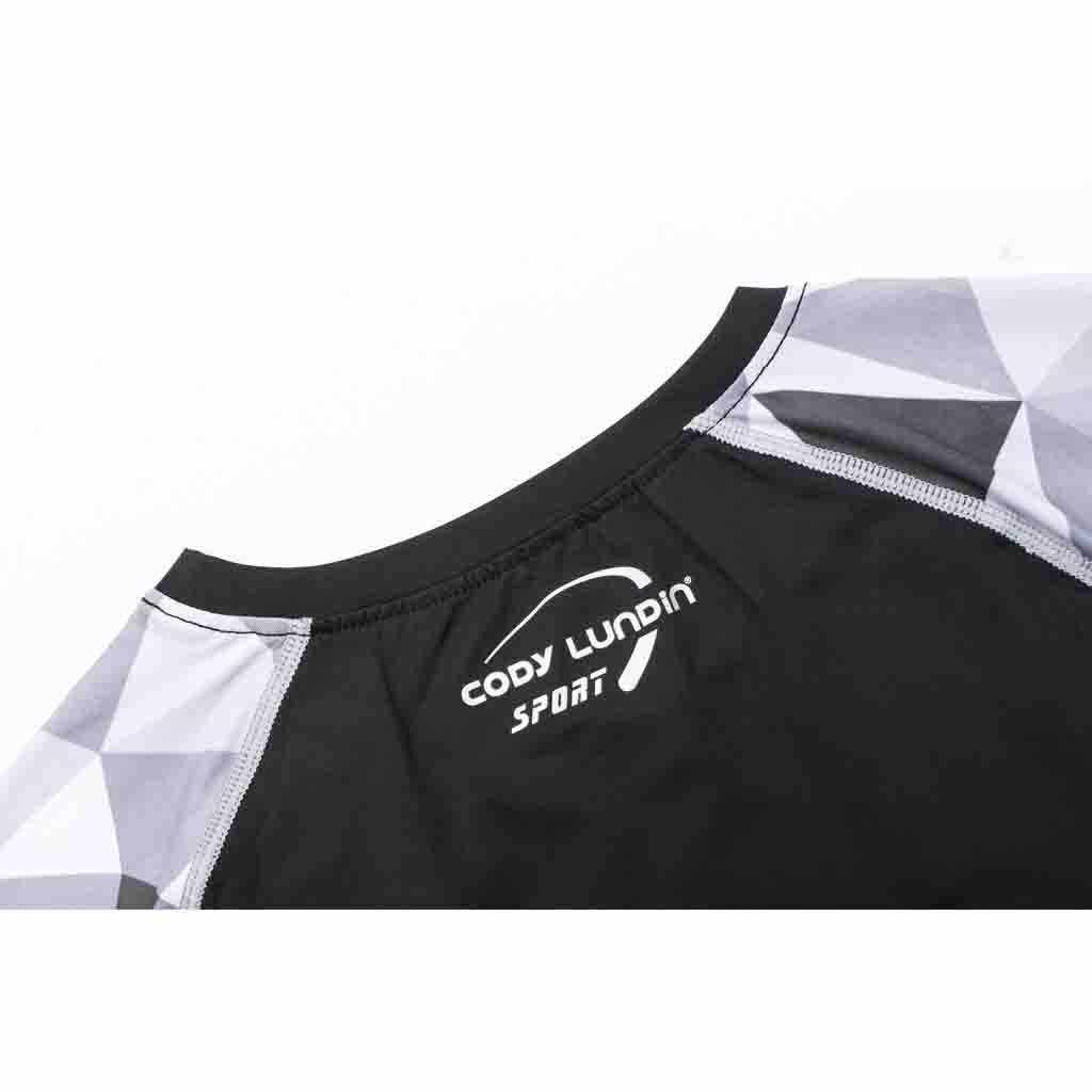 Rashgard رجل Compression الملاءمة الجوارب تشغيل قميص رياضة بلوزة اليوغا ملابس رياضية قمصان كرة قدم الرياضة الرجل تي شيرت