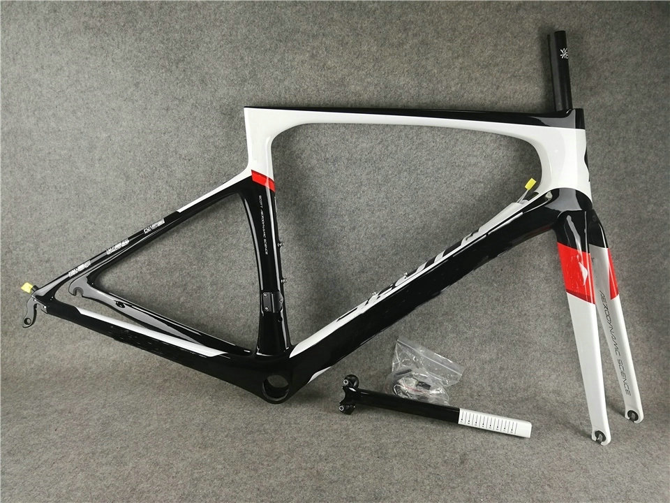 2019 New color Foil UD Glossy full carbon Road Bike Frame PF30 DI2 and Mechanical both(China)