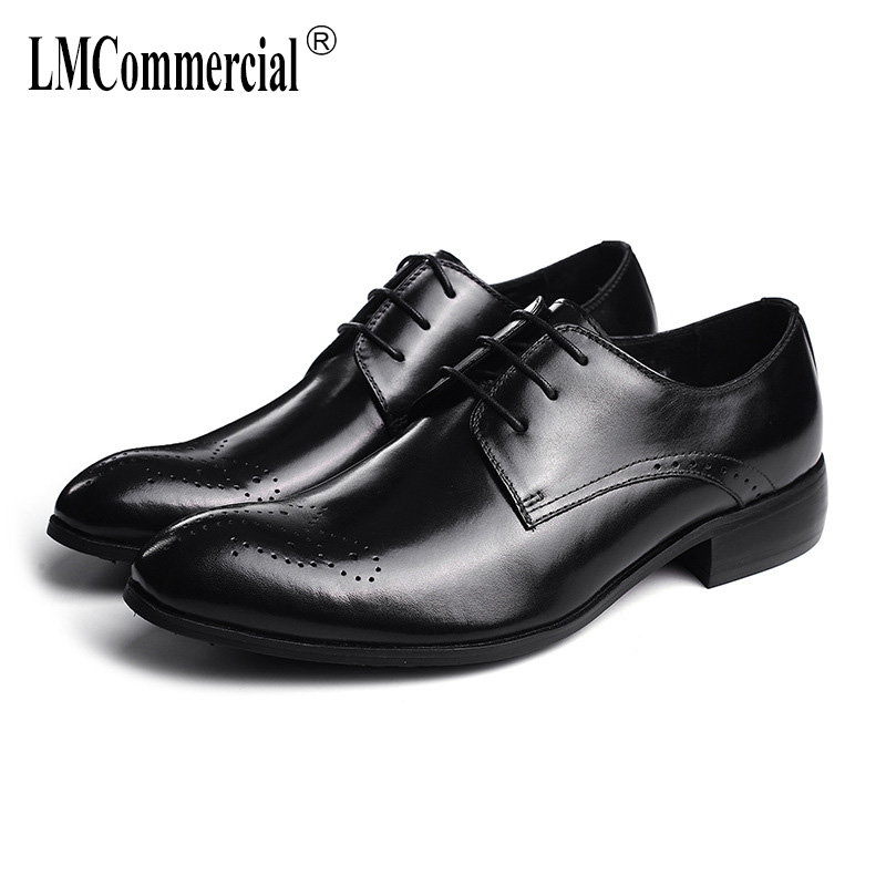 British retro men shoes all-match cowhide High Quality Genuine Leather Shoes Men,Lace-Up Business Men Shoes,Men Dress ShoesBritish retro men shoes all-match cowhide High Quality Genuine Leather Shoes Men,Lace-Up Business Men Shoes,Men Dress Shoes