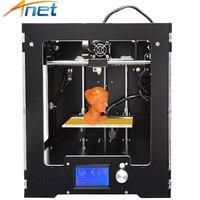 Anet 3d Printers High Precision Impressora 3d Precision Reprap Prusa I3 DIY 3D Printer Kit Free