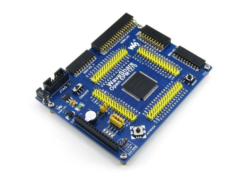 Waveshare OpenEPM1270 Standard# EPM1270T144C5N EPM1270 Altera MAX II CPLD Evaluation Development Board Kit Various Interfaces waveshare coreep2c8 ep2c8q208c8n ep2c8 altera cyclone ii cpld