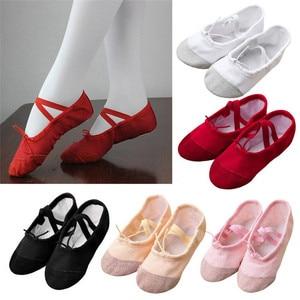 Обувь для маленьких девочек, 2019, парусиновые балетки, танцевальная обувь для фитнеса, гимнастики, тапочки для детей, prewalker soulier bebe fille
