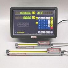 2 оси цифровой индикации dro с высокой точностью Sino линейной шкалой/тонкий линейный энкодер/линейная линейка для токарно-фрезерный станок