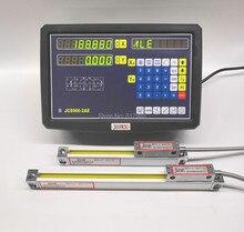 2 แกน Digital readout DRO สูง Precision Sino Linear Scale/Linear Encoder/Linear ไม้บรรทัดสำหรับมิลลิ่งเครื่องกลึง