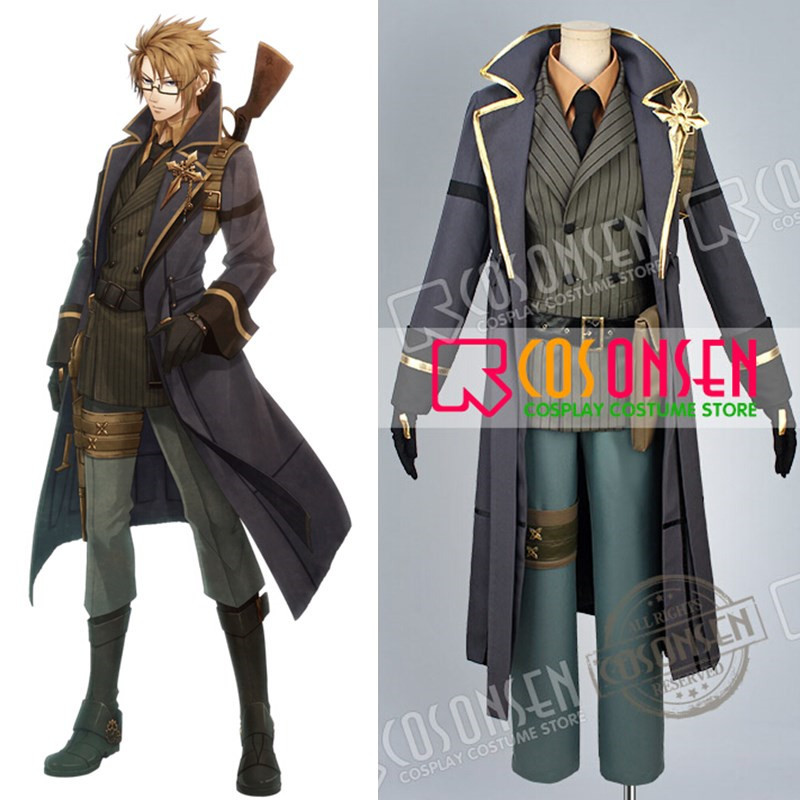Code: Realize Guardian of Rebirth Abraham Van Helsing Cosplay Costume Any Size