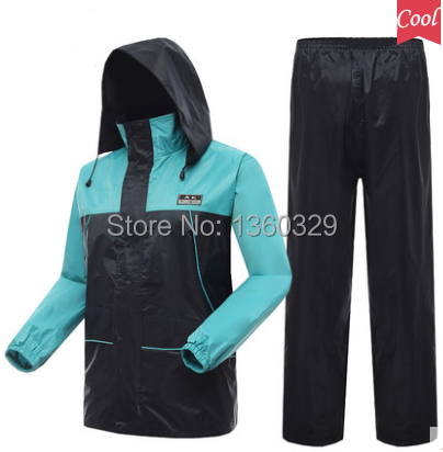 Hooded Raincoat Women Men Rain Jacket Hiking Pants impermeable mujer chubasquero Boys burbe rry capa para chuva Free Shipping  reflective raincoat rain pants waterproof single raincoat men and women for riding working free shipping
