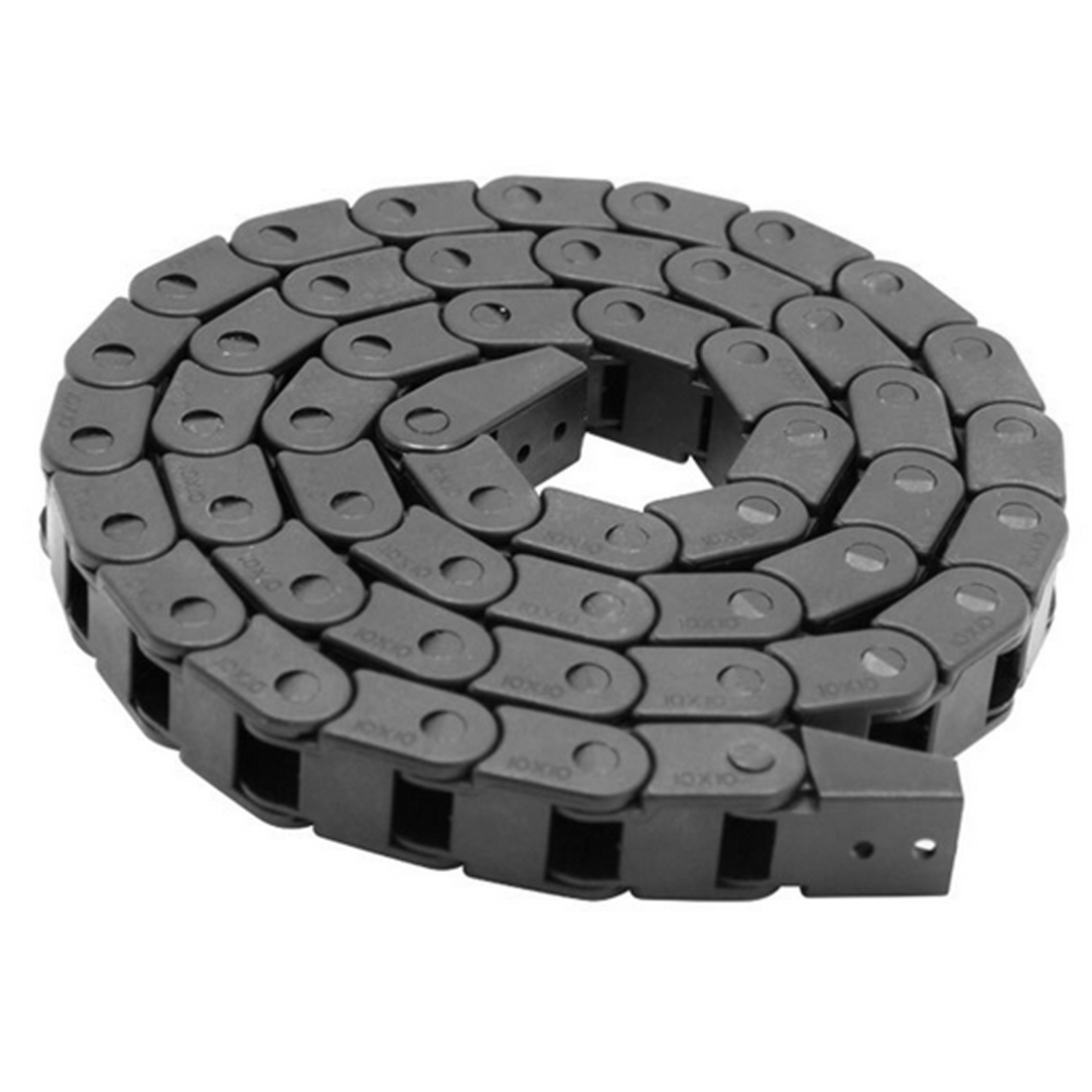 1M 7mmx7mm Nylon Drag Chain Towline Cable Wire Carrier For CNC Engraving Machine