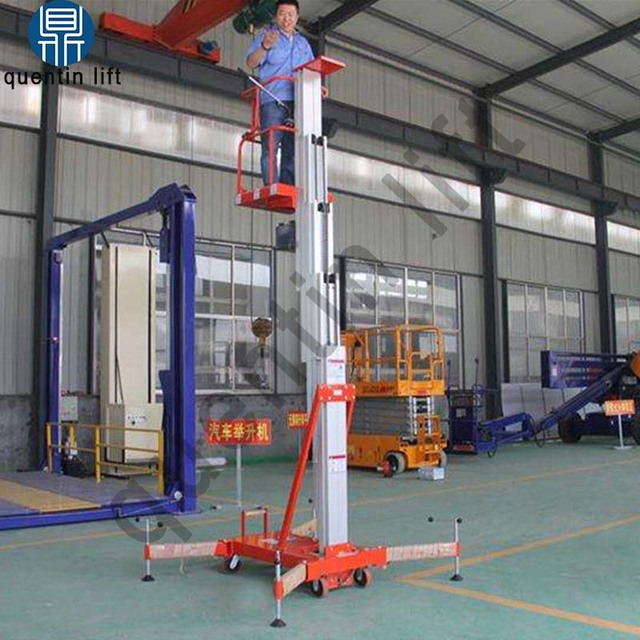 US $2250 0 |10m vertical man lift single mast man lift platform for sale-in  Car Jacks from Automobiles & Motorcycles on Aliexpress com | Alibaba Group