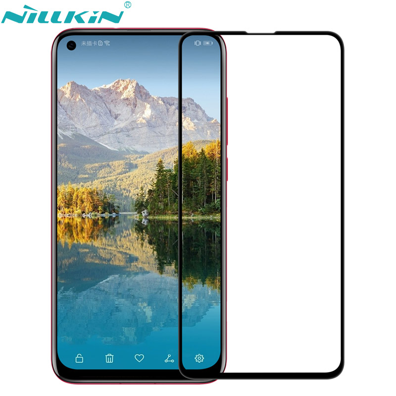 NILLKIN XD CP+MAX 2.5D Fully Covered Arc edge Tempered Glass Screen Protector for Huawei Nova 4 Nova4 Anti-burst Protective film