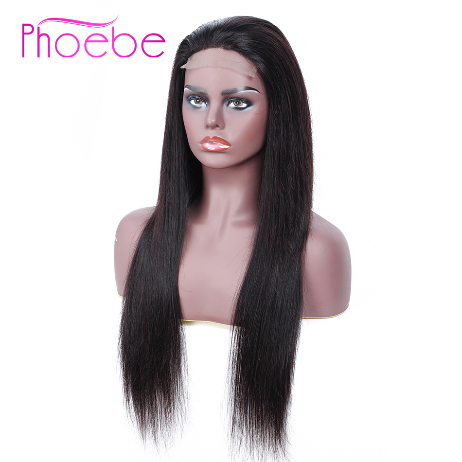 Phoebe 4x4 Short Lace Closure Human Hair Bob Wig Remy Hair 150 Density Lace Closure Wigs